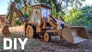 Coolest Cardboard JCB |  (DIY Bulldozer/Excavator/CAT JCB)