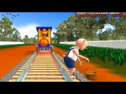 piggy On The Railway - 3d Nursery Rhyme For Children With Lyrics | Classteacher Learning Systems video