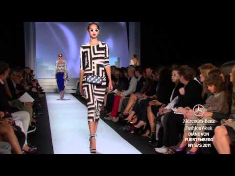 DIANE VON FURSTENBERG SPRING 2011, MERCEDES-BENZ FASHION WEEK NEW YORK
