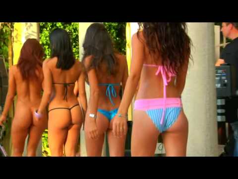 Sexy South Beach G-String Bikini Girls! Video