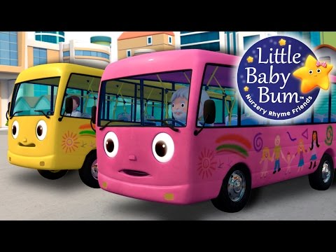 Wheels On The Bus   Part 8   Nursery Rhymes   by LittleBabyBum!