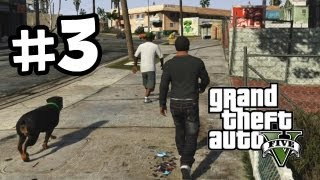 Grand Theft Auto 5 Part 3 Walkthrough Gameplay - Chop the dog - GTA V Lets Play Playthrough