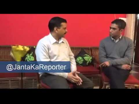 [Full Video] Arvind Kejriwal interview with Rifat Jawaid
