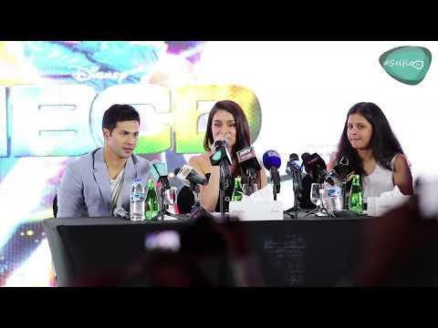 ABCD - 2 Press Conference in Dubai