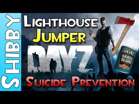 0 Day Z   The Lighthouse Jumper   Suicide Prevention Squad (Shibby Gameplay Commentary)