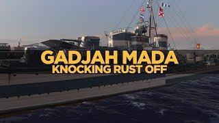 World of Warships - Gadjah Mada Knocking Rust Off