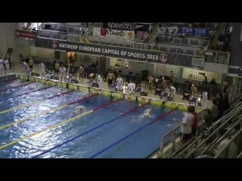 269 Championnat de Belgique Open Anvers Men, 100m Backstroke