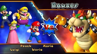 Mario Party 9 Story Mode Part 6 Bowser Station Solo Mode