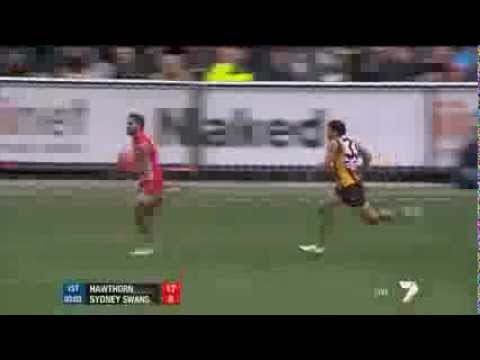 Jetta v Rioli - the real AFL Grand Final Sprint
