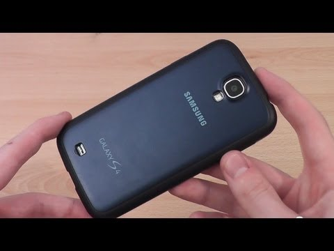 Genuine Samsung Galaxy S4 Protective Cover Review