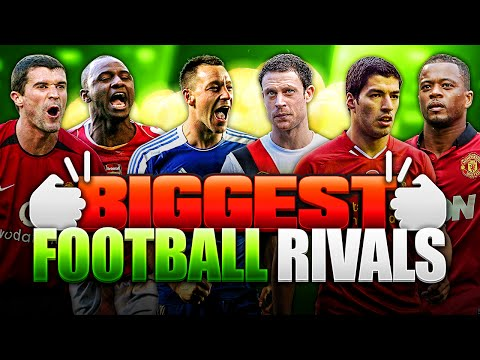 BIGGEST FOOTBALL RIVALRIES!