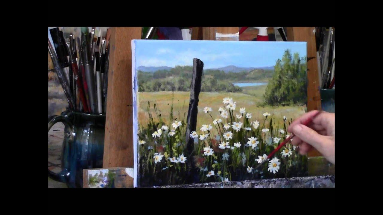 Painterly Acrylic Painting