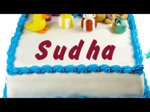 Birthday Cakes With Name Sudha ~ Happy birthday sudha hot clip new video funny keclips