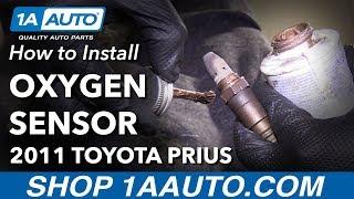 How to Replace Upstream O2 Oxygen Sensor 10-15 Toyota Prius