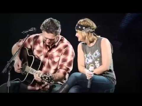 Blake Shelton & Miranda Lambert-God Gave Me You in Wichita.