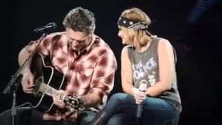 Blake Shelton Video - Blake Shelton & Miranda Lambert-God Gave Me You in Wichita.