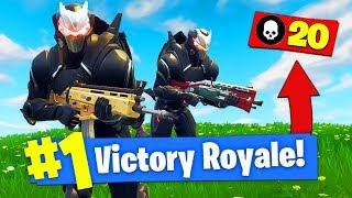 When Youtubers Go *TRYHARD* In Fortnite Battle Royale!
