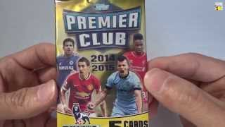 UNBOXING: 3 Sobres Topps Premier Club 2014-2015