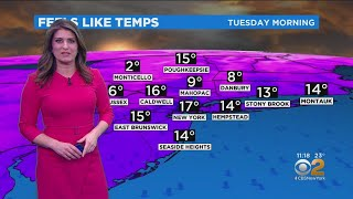 New York Weather: CBS2 11 p.m. Forecast
