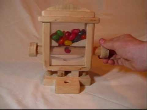 wood projects gumball machine