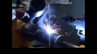 Mig welding  Automation for circumferential welding .