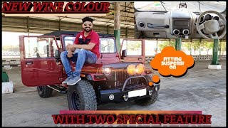 Modified Thar With Custom Accessories By Jain Motor's |Best Modified Thar Jeel