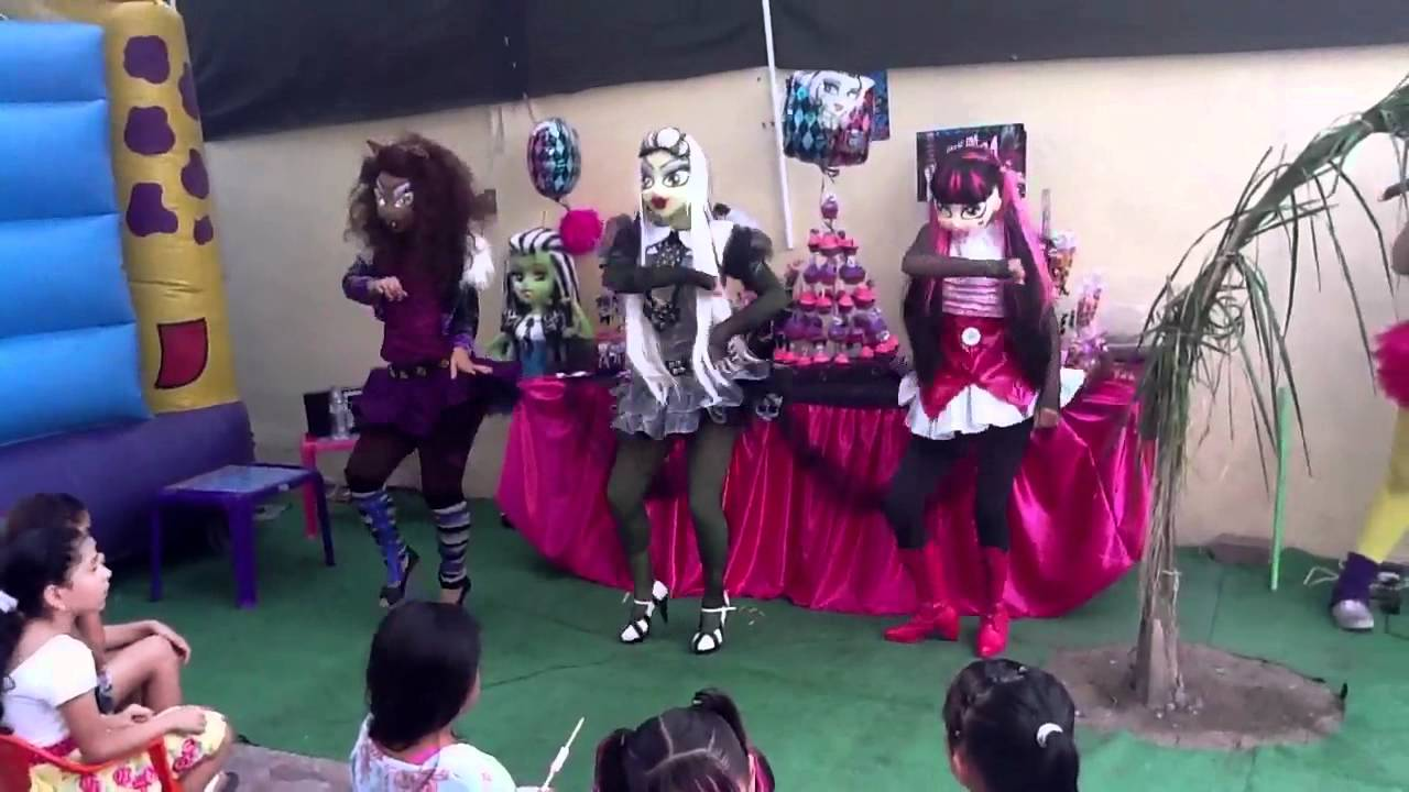 monster high     show time espectaculos infantiles