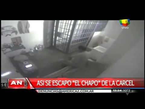Así se escapó el Chapo Guzmán de su celda en México