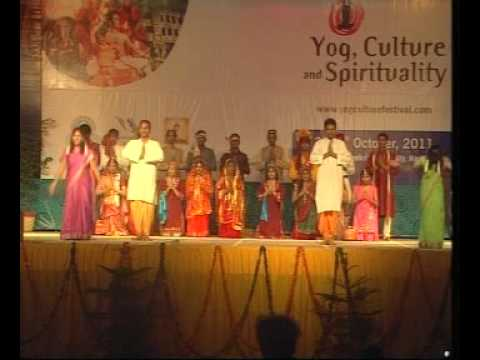 Dsvv.cultural Programs : Yogfestival.2011 (anokha Bharat..dsvv In Mini India) video