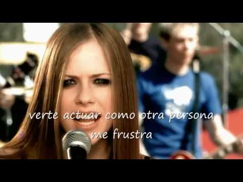 Avril Lavigne Complicated Letras en Español HD