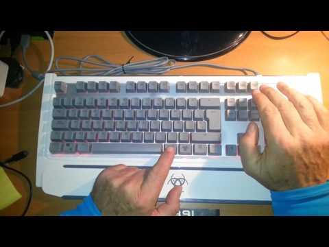 Tecla FN en teclado TITAN PLUS
