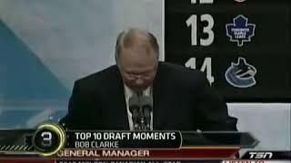 I forgot... Bob Clarke - Claude Giroux. Draft Day