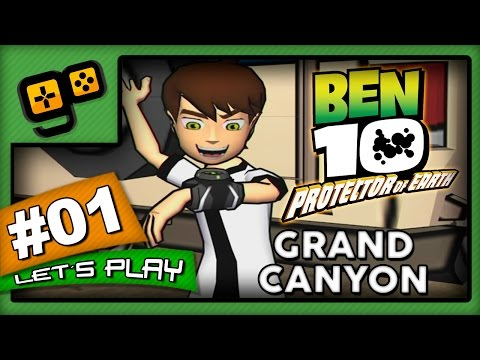 Let's Play: Ben 10 Protector of Earth - Parte 1 - Grand Canyon