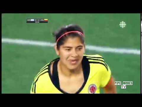 Golazoooo de Media Volea  Catalina Usme Colombia 2 Vs Argentina 0 Panamericanos Toronto 2015