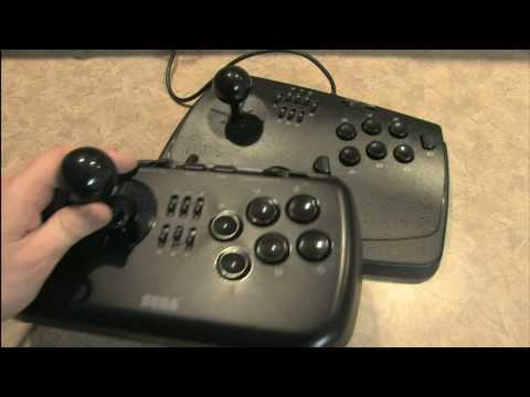 Classic Game Room HD - SEGA SATURN VIRTUA STICK review