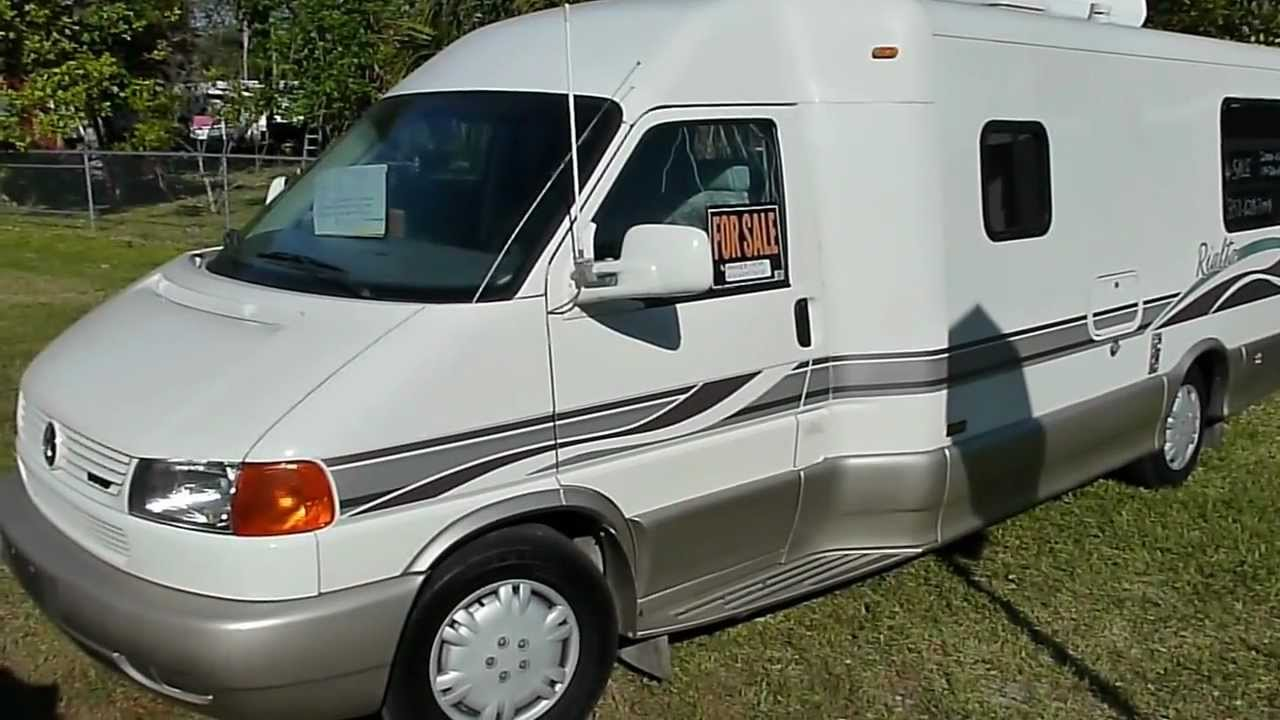 Used 2000 Winnebago Rialta QD Class B van - YouTube