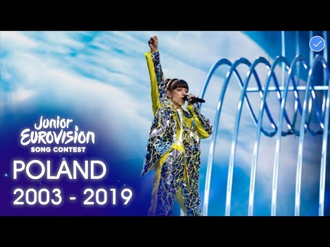 Poland in The Junior Eurovision Song Contest 2003 - 2019