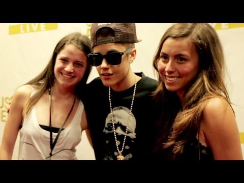 Justin Bieber Shows Fans Love - Believe Movie Clip Exclusive video