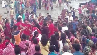 দূর্গা পূজার দশমী, শাহবাজপুর, বাংলাদেশ।  Durga puja bijoya Doshomi