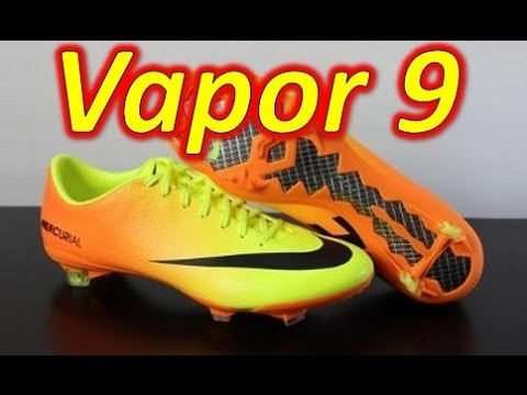 Nike Mercurial Vapor 9 Volt/Bright Citrus - Unboxing + On Feet