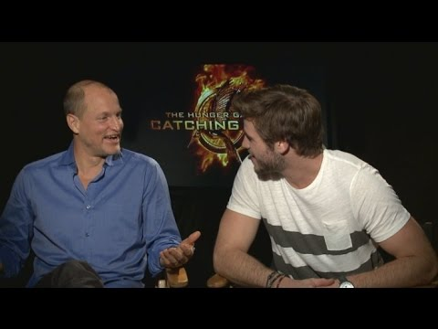 CATCHING FIRE Interviews Jennifer Lawrence, Josh Hutcherson, Liam Hemsworth, Sam Clafin, more