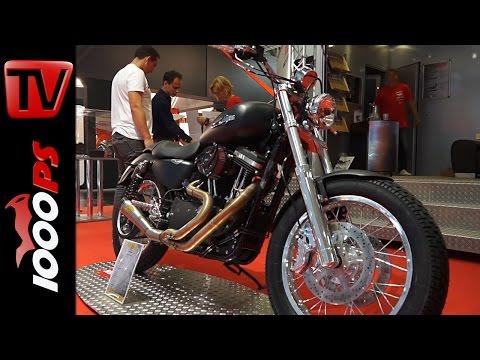 Harley Davidson Sportster 1200 Dirt Tracker Umbau by MIZU