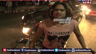 Hijra Assault On Traffic Police and Media at Jubilee Hills| Drunk and Drive, Hyderabad | Studio N