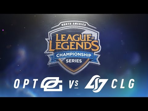 OPT vs. CLG - Week 4 Day 1 | NA LCS Spring Split | OpTic Gaming vs. Counter Logic Gaming (2018)