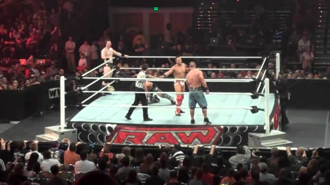 Sheamus & The Miz vs. John Cena & John Morrison - WWE Dark ...