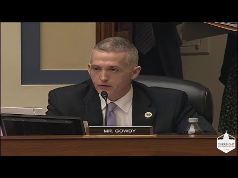 Gowdy Questions Chemical Safety Board Chair About Use of Personal Email