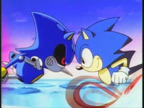 Sonic vs metal Sonic Movie SPOILER