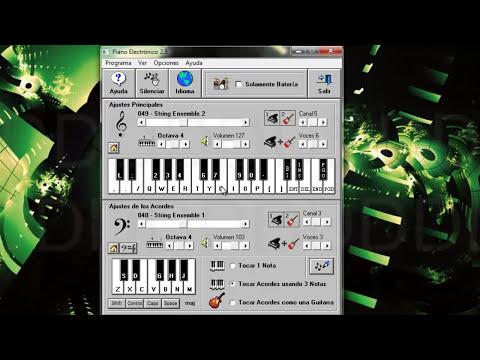 Descarga e instala el piano  Electrónico 2.5 [Español]