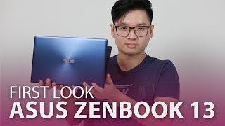 Asus ZenBook 13 (UX333) Hands-On | Sleek & Compact