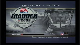MADDEN 2005: MADDEN 05 VS ESPN NFL 2K5: #throwbackthursday